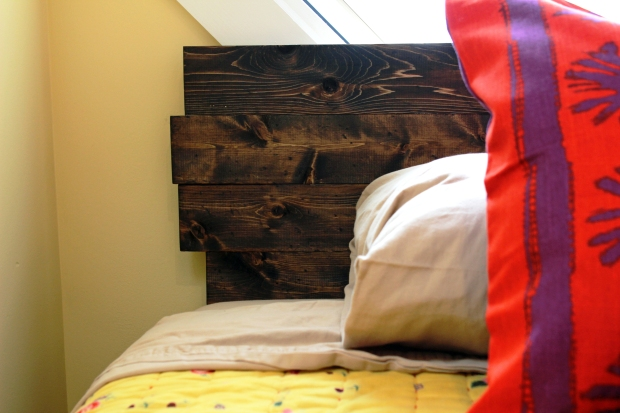 DIY Distressed Headboard of Your Dreams